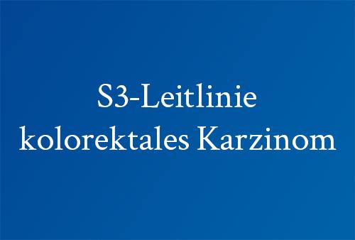 S3-Leitlinie-kolorektales-Karcinom